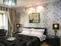 Обои для спальни — фото в интерьере для маленьких комнат