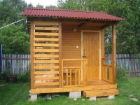 Летний душ — выбор идеального и практичного дизайна (100 фото)