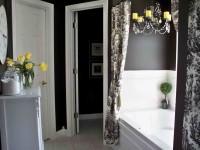 Идеальные шторы для ванной комнаты — как сделать правильный выбор? Фото, виды, новинки!