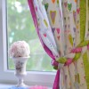 Шторы для детской комнаты — 100 фото идей