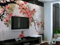 Оформление стен в гостиной фото идеи и новинки 2018