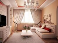 Современный ремонт гостиной: придаем атмосферу тепла и уюта (50 лучших идей)