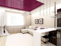 Идеи современных гостиных совмещенных с кухней  видео обзор от профессионалов