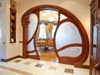 Оформление арки в квартире. Арка в интерьере квартиры, 105 идей