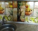 Оформление фартука на кухне — варианты отделки. Современные фартуки для кухни 90 фото