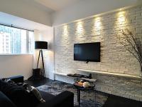 Имитация кирпича для отделки на стене простыми способами