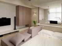 Дизайн квартиры студии — 100 фото идей практичного и удобного интерьера