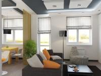 Современный дизайн маленькой квартиры фото видео обзоры профессионалов