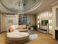 Современные идеи интерьера гостиной