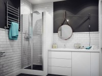 Дизайн ванной в скандинавском стиле