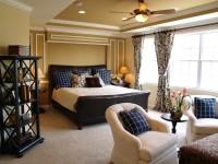 Идеи оформления спальни — 90 фото вариантов современной спальни