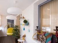 Интерьер балкона и лоджии: идеи дизайна