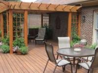 Террасы и веранды, пристроенные к дому, фото
