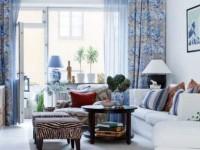 Дизайн штор для зала с балконом — лучшие идеи