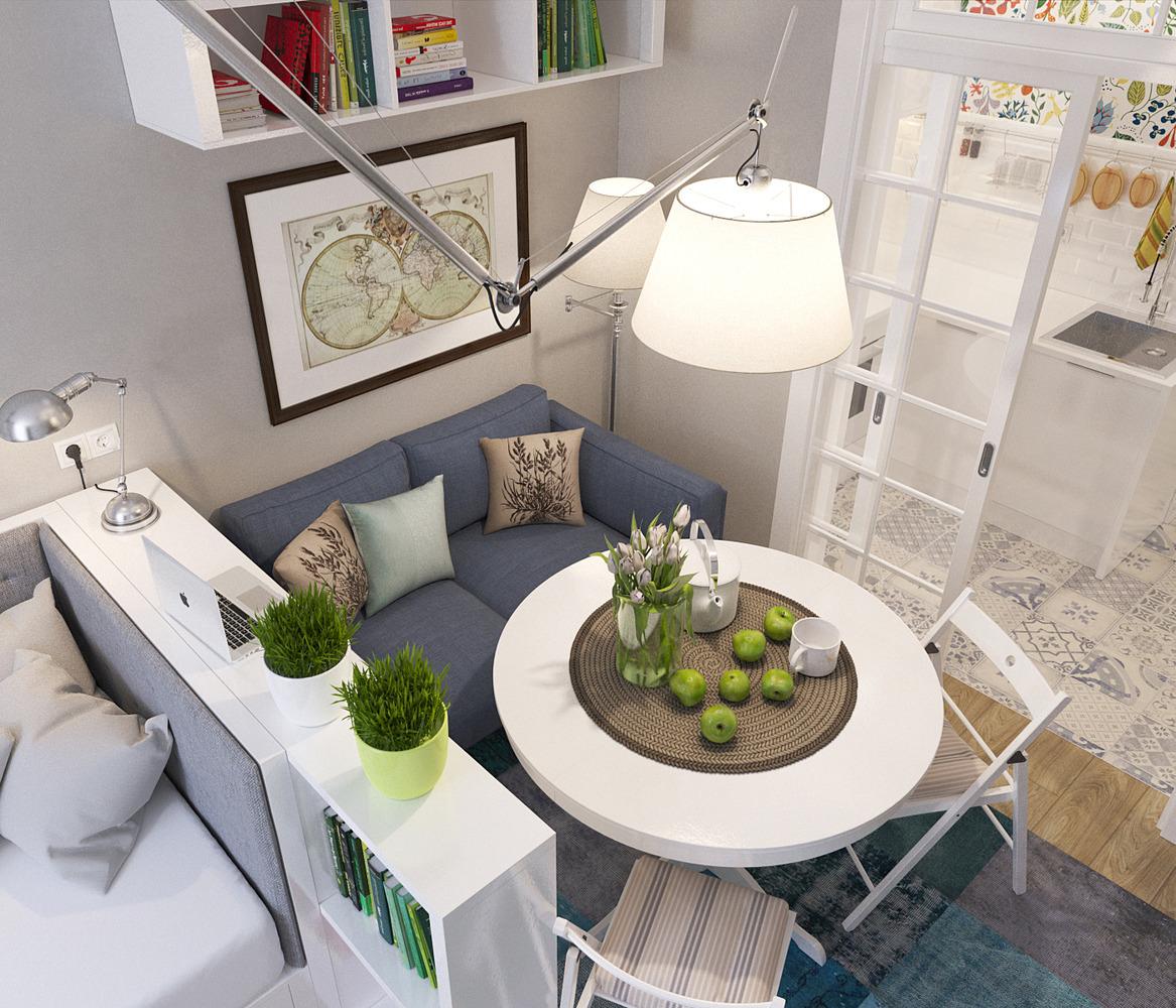 Планировка маленькой квартиры -1