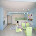 Планировка маленькой квартиры 10