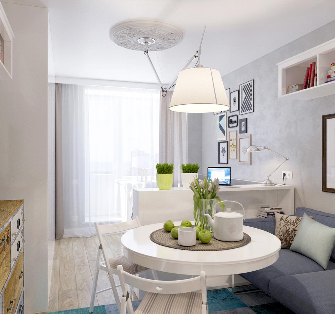 Планировка маленькой квартиры -7