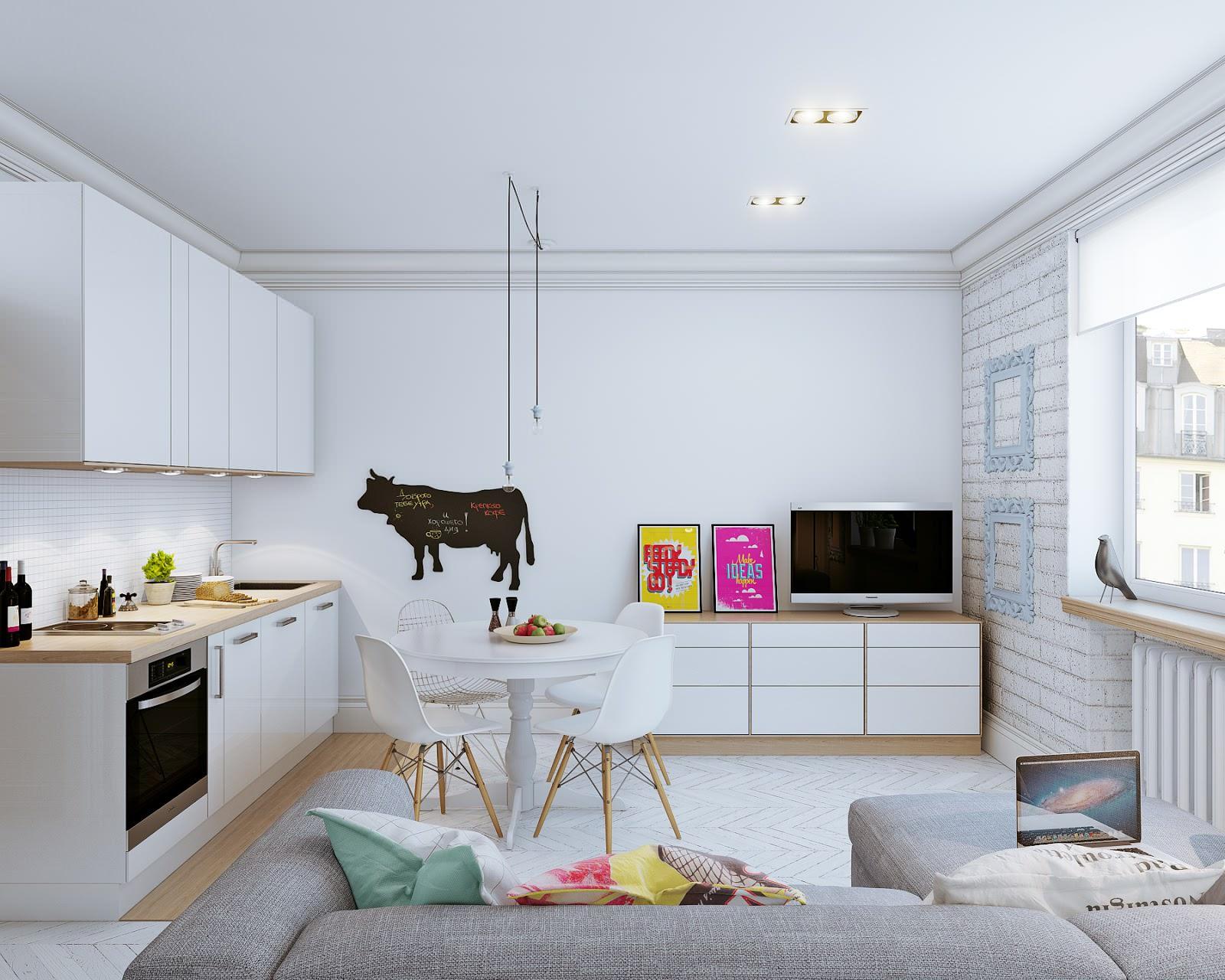 Планировка маленькой квартиры -78