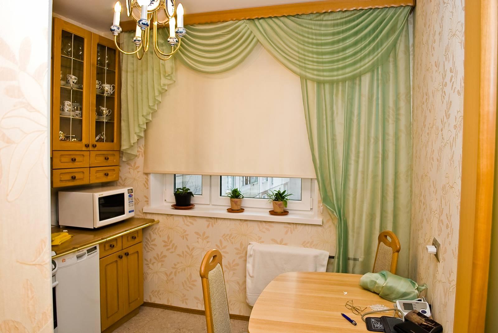 Современные тренды шторы для кухни - 2