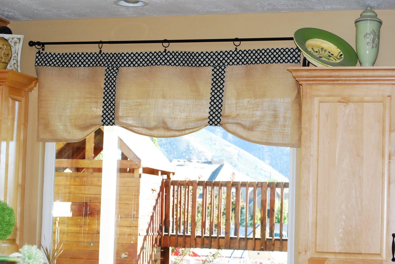 Современные тренды шторы для кухни - 3