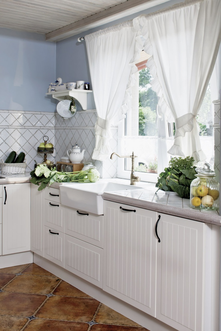 Современные тренды шторы для кухни - 6