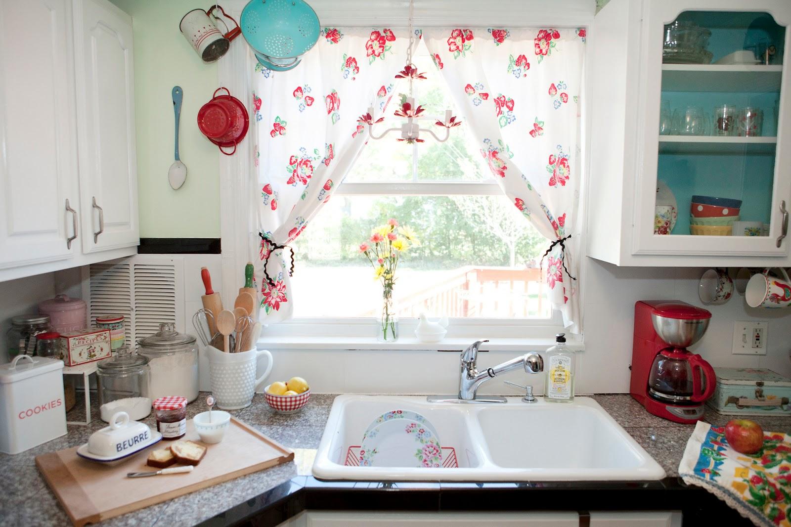 Современные тренды шторы для кухни - 7