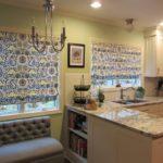 Современные шторы на кухню 3