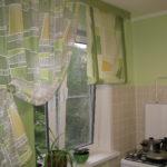 Современные шторы на кухню 8