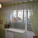 Современные шторы на кухню 9