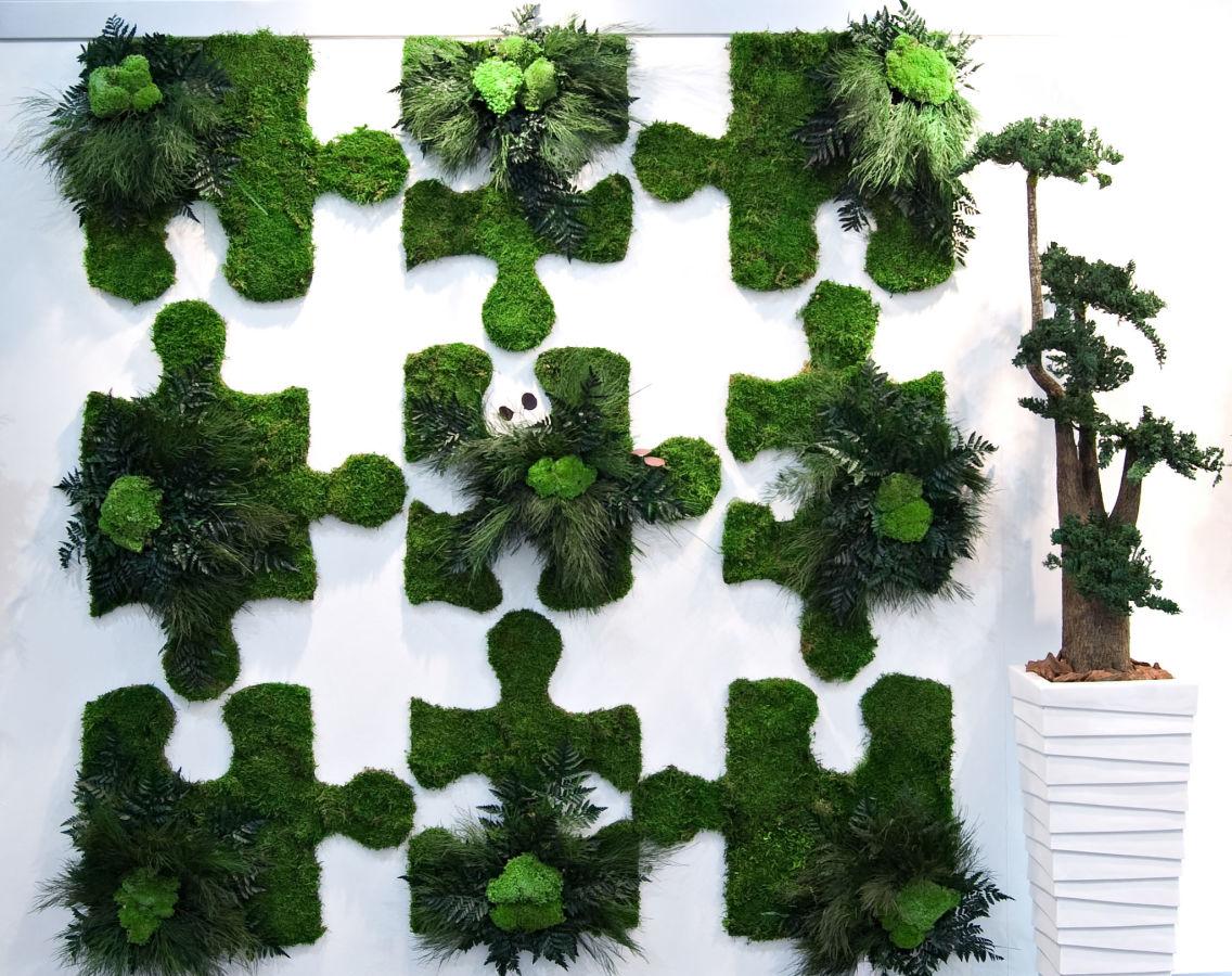 озеленение мохом 8