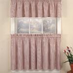 Ticking-Stripe-Kitchen-Curtain-Tier