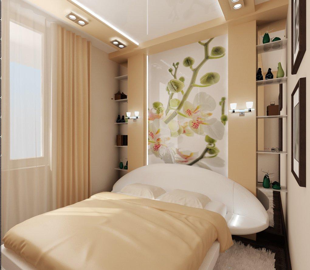 Дизайн маленькой спальни своими руками фото