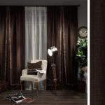 Выбор тканей для штор в спальню - 2
