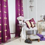 Выбор тканей для штор в спальню - 4