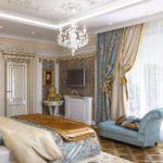Выбор тканей для штор в спальню - 5