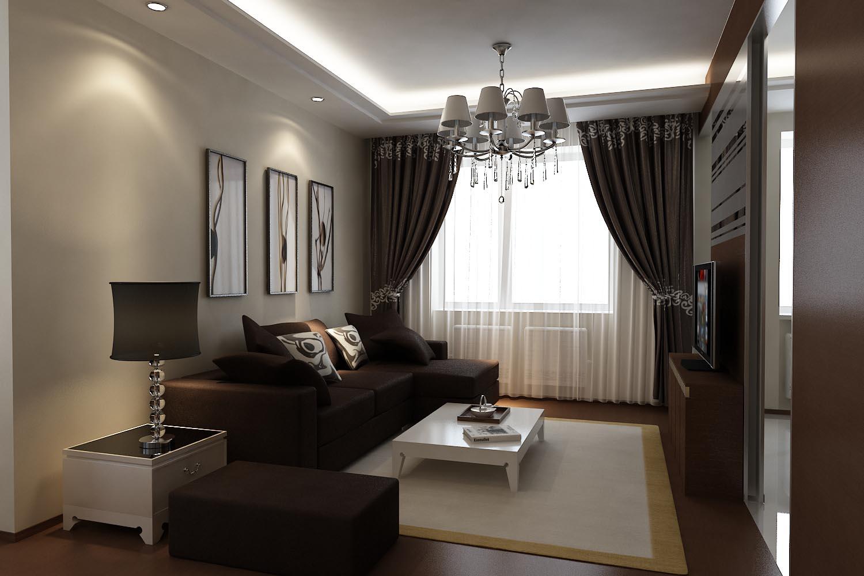 Зонирование квартиры с одной комнатой 3