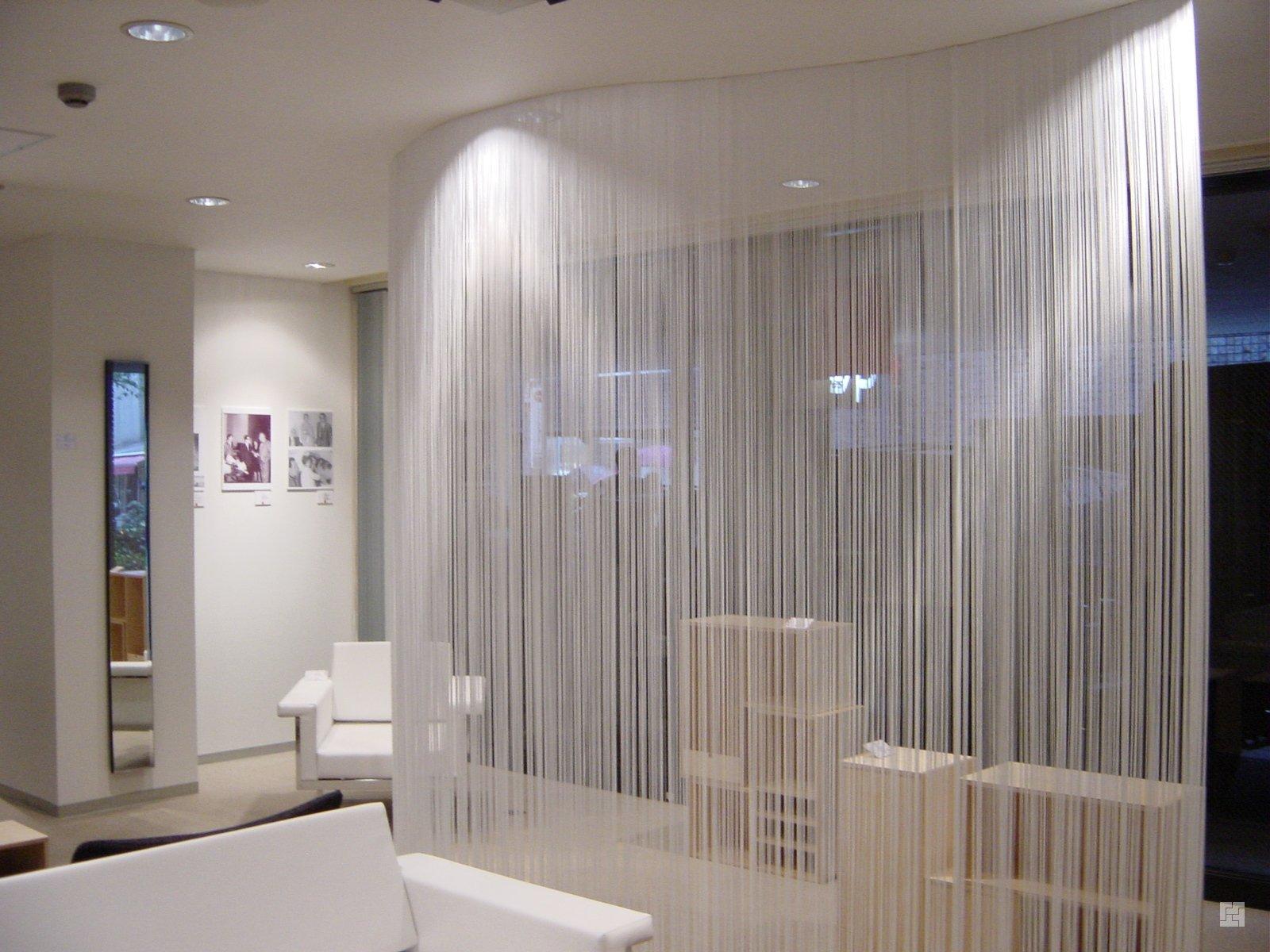 Нитяные шторы или шторы-кисеи 2