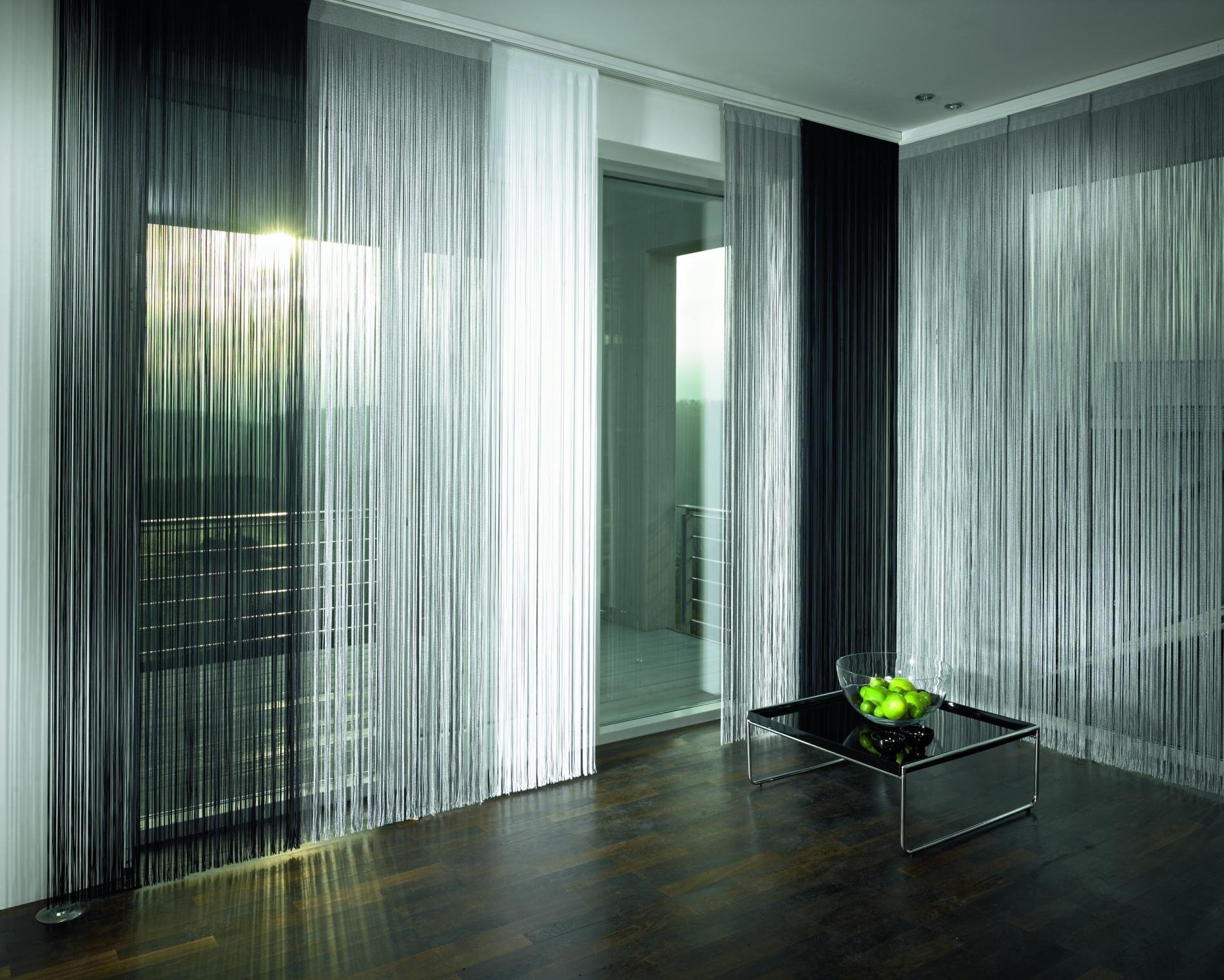 Нитяные шторы или шторы-кисеи