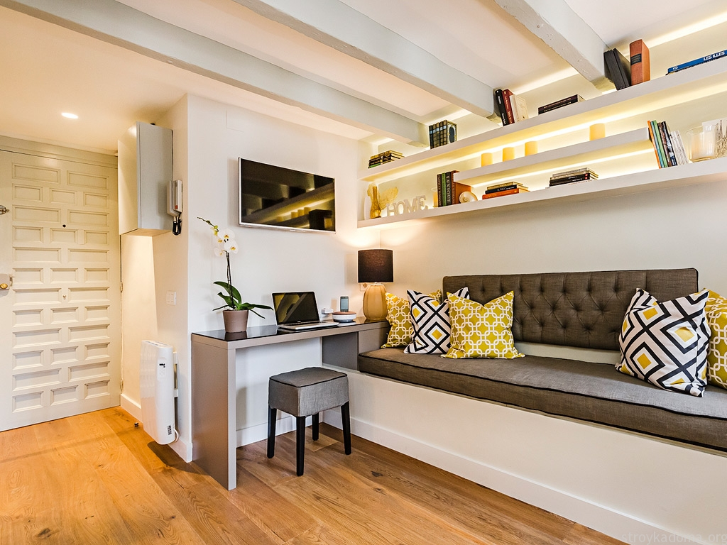 Дизайн квартиры 40 м2