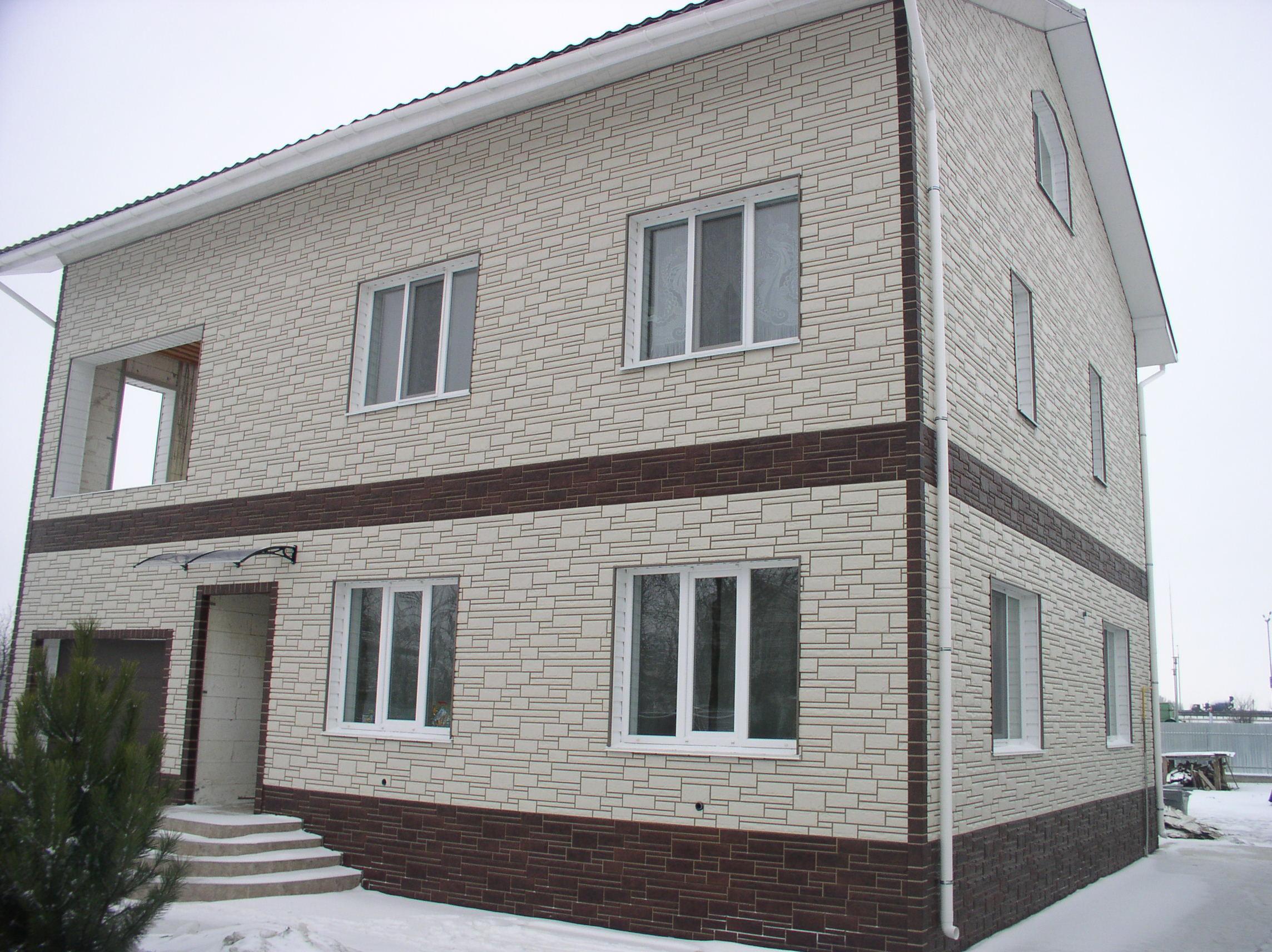 Панели фасада