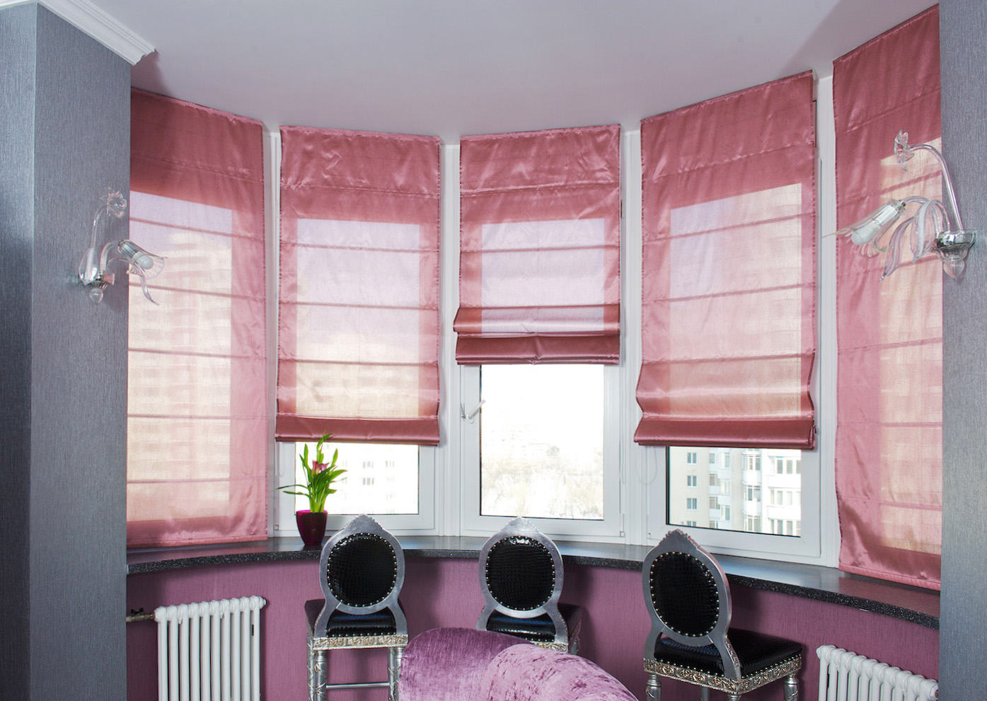 Roman curtains -1