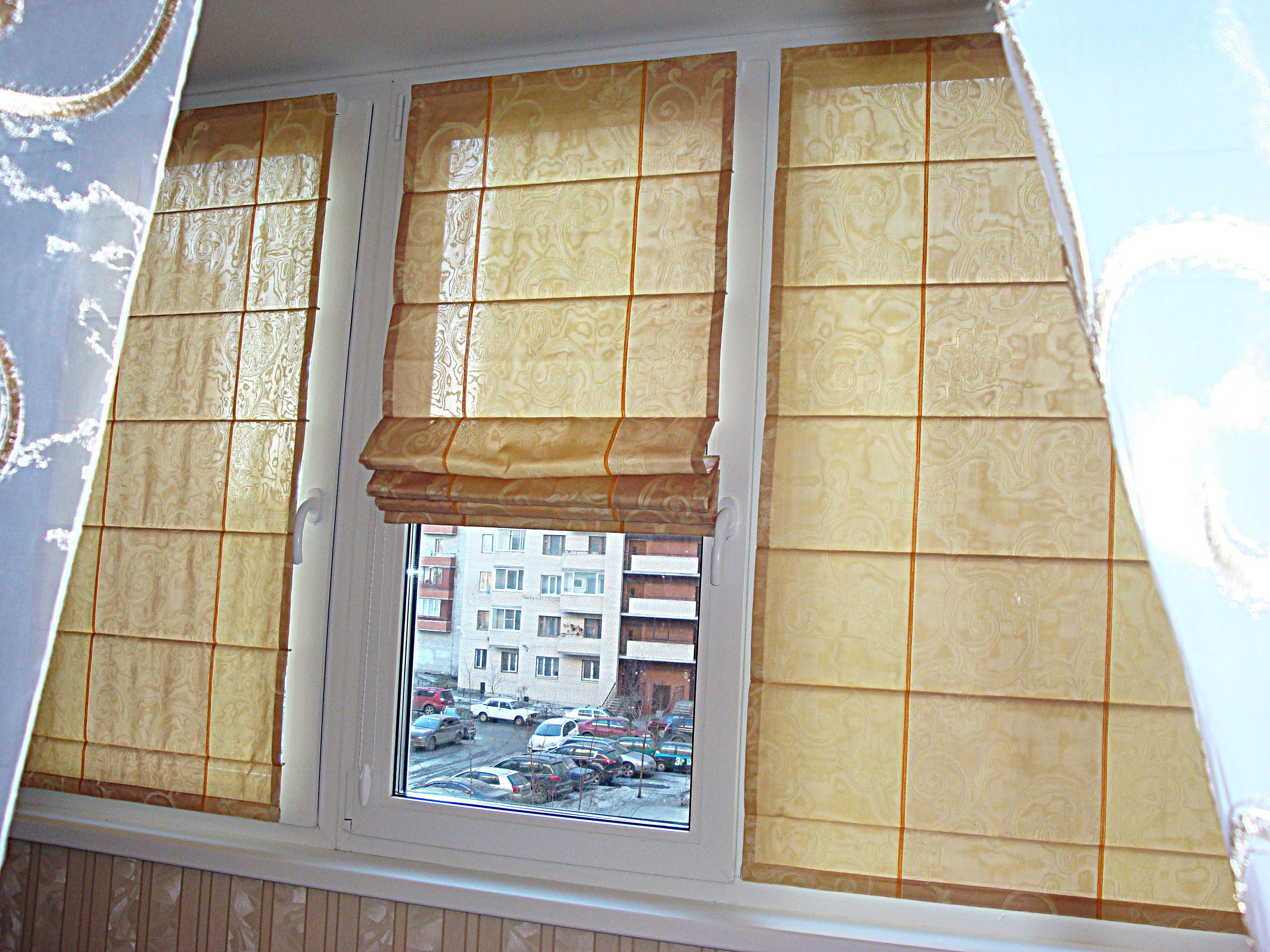 Римские шторы -10