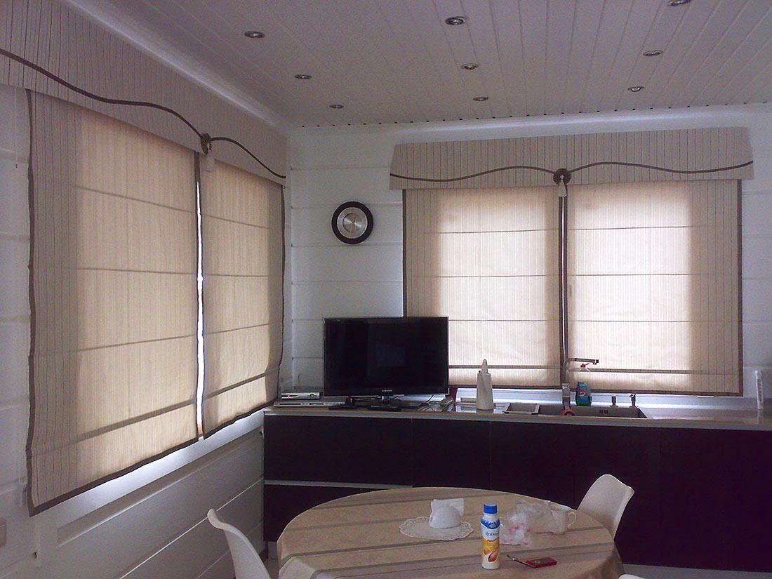 Рулонные или римские шторы 2