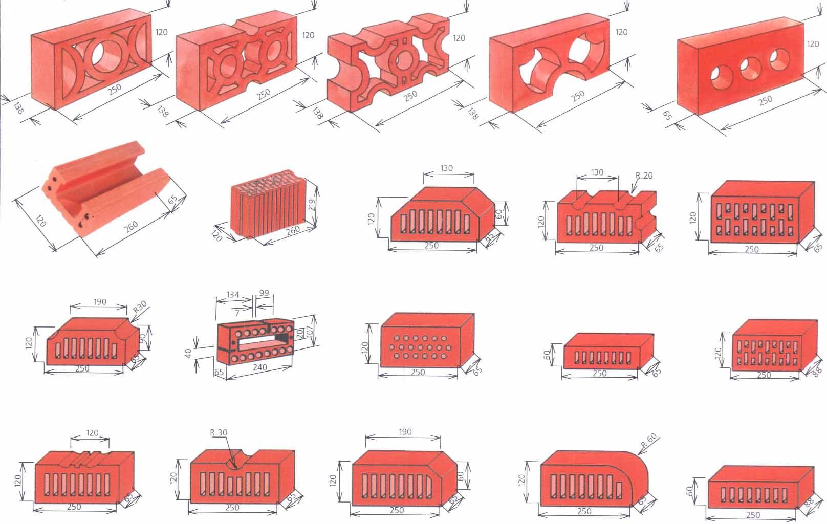 How many cubed bricks 5