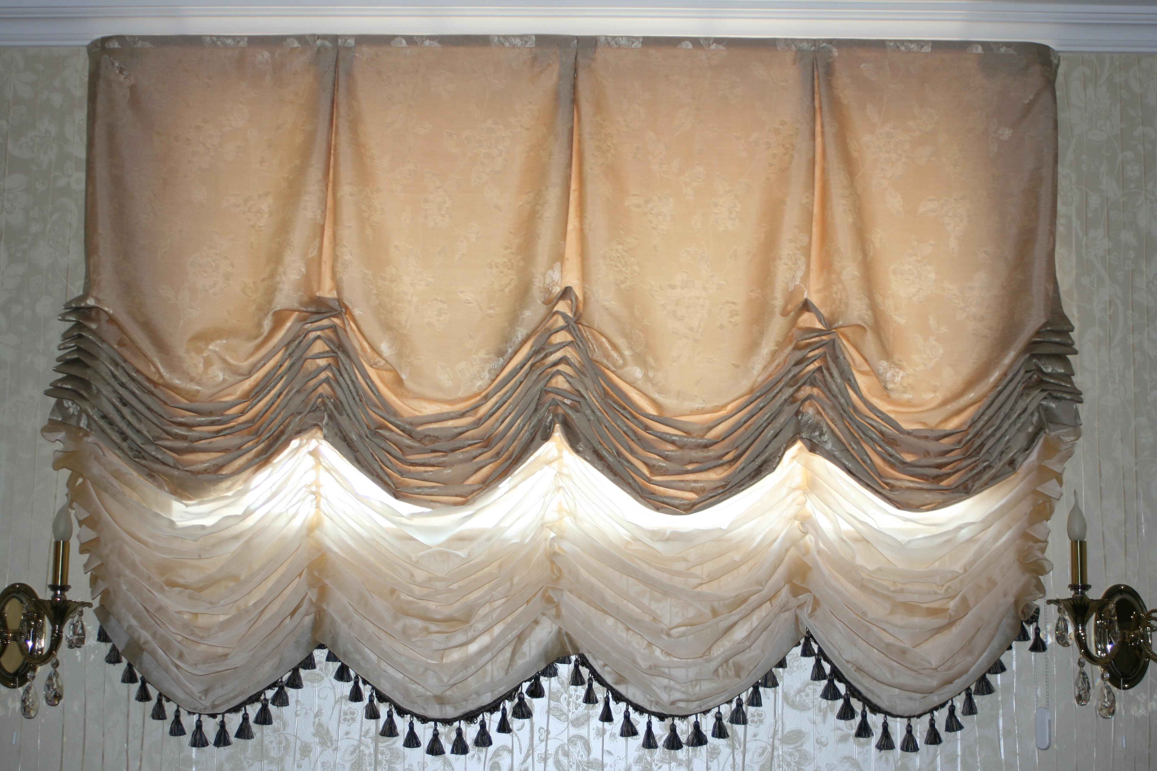 Изготовление штор шторы своими руками фото