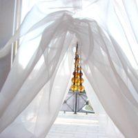Французские шторы — фото роскошного украшения окон