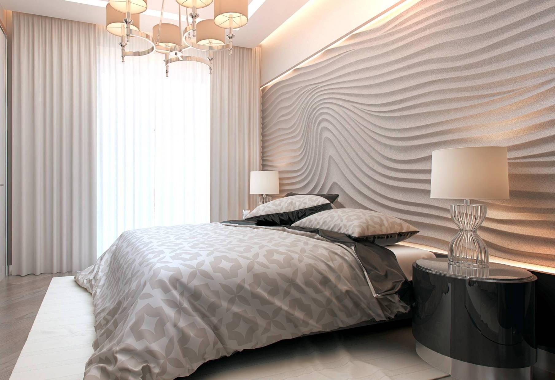 Шторы в современную спальню - 4