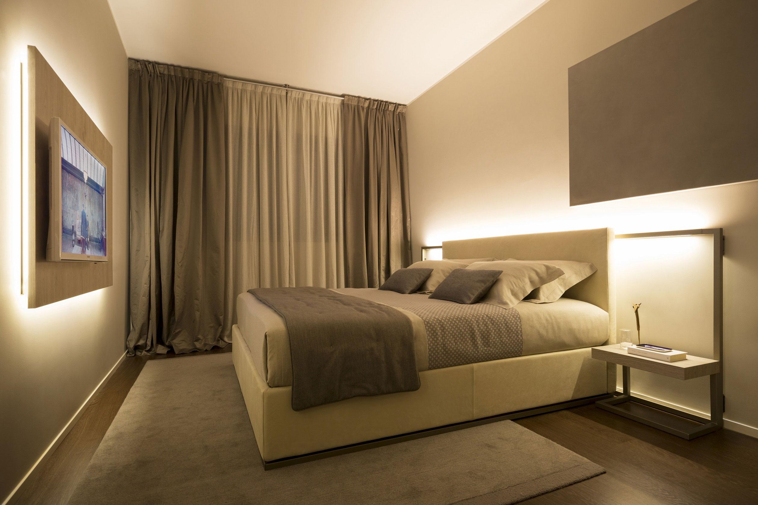 Шторы в современную спальню - 5