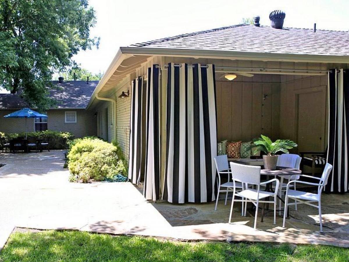 Защитные шторы для террасы своими руками