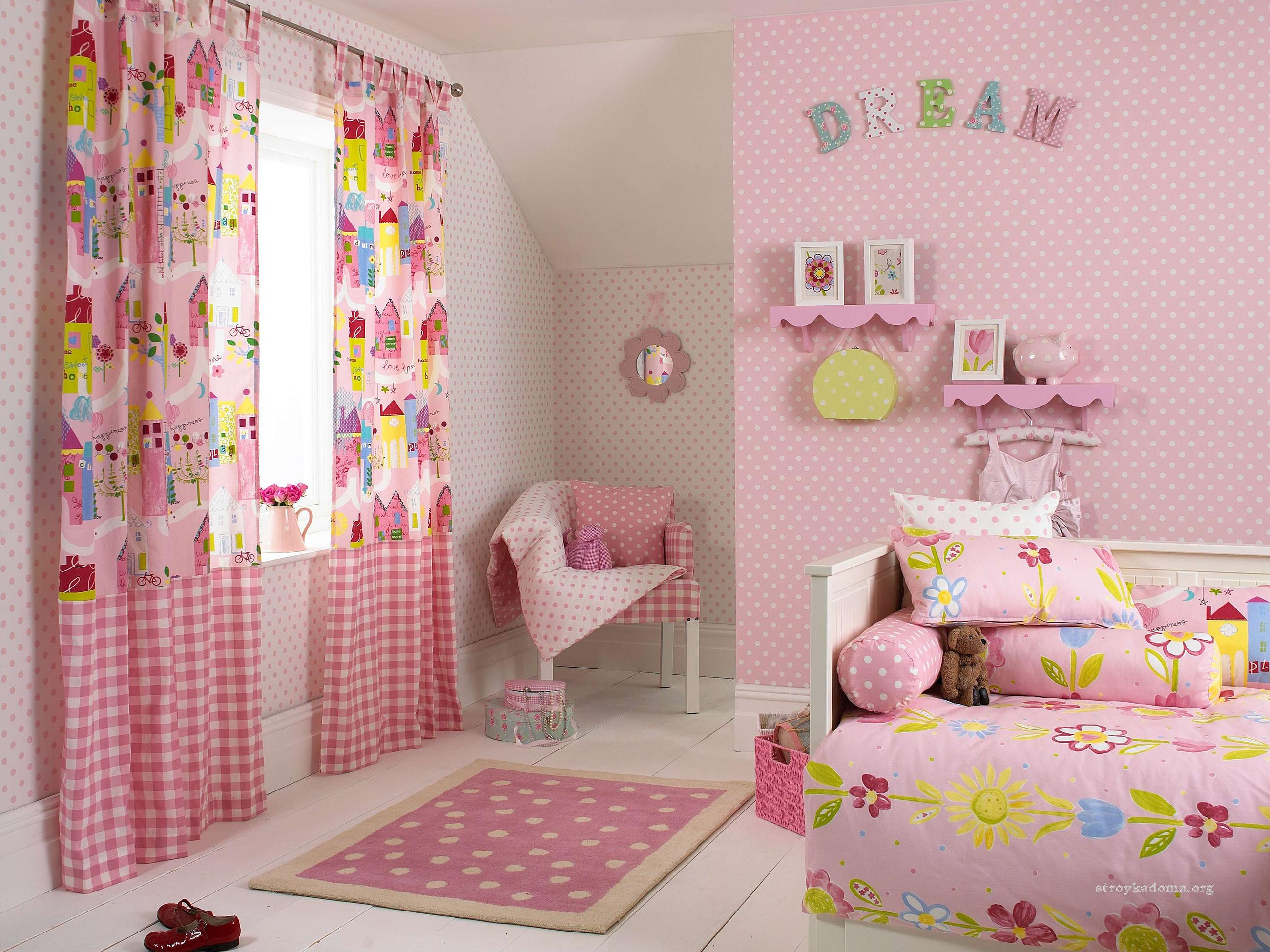 Шторы для детской комнаты 13